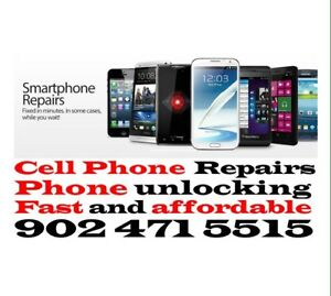 Cell phones Repairs - Phone unlocking