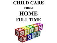 Child care ( childminder )