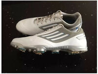 Adidas Adizero Golf Shoes White & Grey Size 12 small more 11