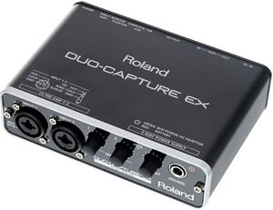 ROLAND UA-22 DUO-CAPTURE EX USB AUDIO INTERFACE