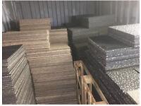 Carpet tiles 10000 50p each