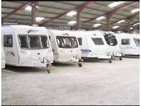 Indoor Secure Caravan Storage
