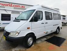 2003 Mercedes Benz Sprinter Campervan - Shower / toilet - Solar Wodonga Wodonga Area Preview