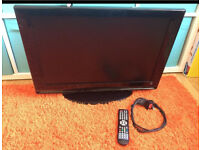 "Lcd Tv 26"" With built in Dvd with controller fully working"