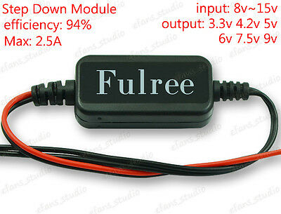 Dc-dc Buck Step Down Voltage Converter Module 8v15v 12v 3.3v 4.2v 5v 6v 7.5v 9v