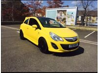 Corsa d 2011 1.2 vxr replica yellow edition low mileage bargain newdriver deliveryvehicle workcar