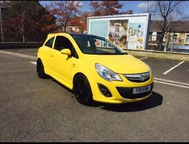 Vauxhall corsa d 2011 1.2 excite vxr replica low mileage cheap bargain priced to sell not waste time
