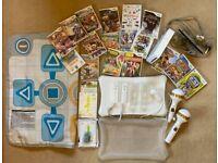 Wii Mega Bundle: Wii Console, Wii Fit Board & 19 games