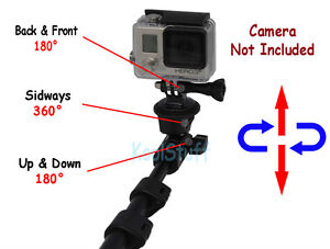 Telescopic Extension Pole for GoPro HERO Camera / Cell Phones