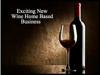 DUE TO LAUNCH IN THE UK - EXCITING NEW WINE HOME BASED BUSINESS