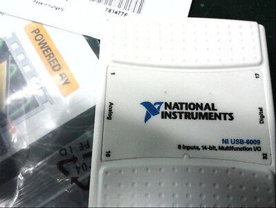 National Instruments Usb-6009 Data Acquisition Card Ni Daq Multifunction