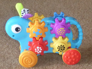 Playskool Push N Stack Gears  No Batteries Required