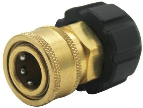 """Twinkle Star 3/8"""" Quick Connect NPT to M22 15mm Metric Hose Fitting TWIS283"""
