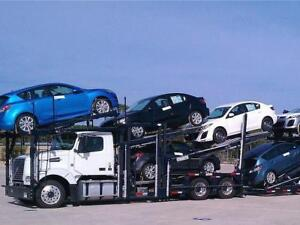 Car shipping vehicles from/to Calgary/Edmonton to ON/QC
