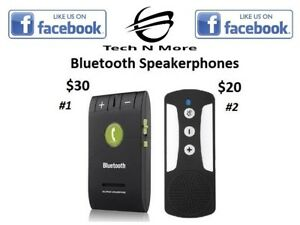 Bluetooth Speakerphones (2 Options)