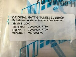 Original Mattig Tuning Zubehor for VW Passat