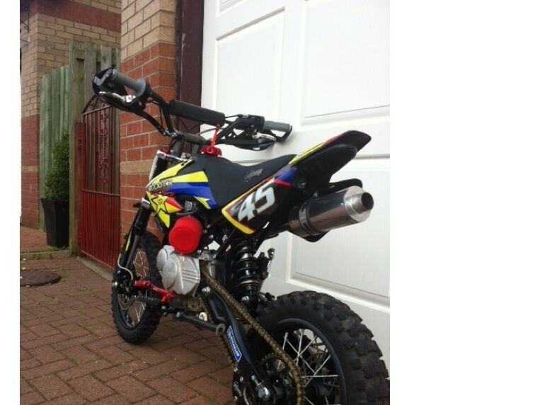 Stomp 120 Pit Bike Dirt Bike In Johnstone Renfrewshire Gumtree