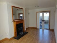 BT6 2 good size bedrooms / lounge with feature fireplace and patio doors to rear garden / oil CH