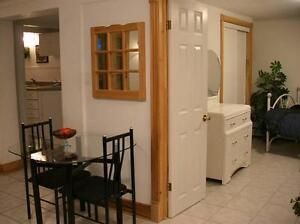 Quiet 1 bedroom apartment in owner's quiet house near downtown