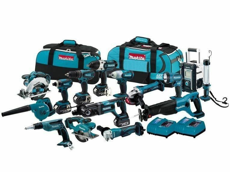 Makita 15-piece Cordless Combination Set