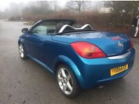 Vauxhall Tigra hardtop convertible - low miles - heated leather seats - 12months mot