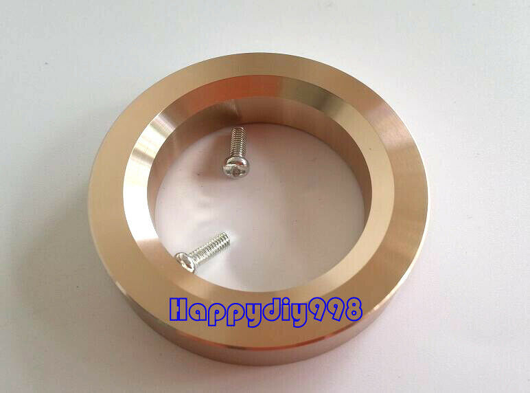 1x tube AMP Aluminum Decorate Base Ring Washer For 300B  6CA7 6P3P 54mm Black