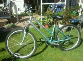 Ladies bicycle alloy frame top condition