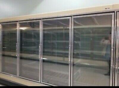 Refrigerator Tyler 8 Door Cooler Glass 2007 Complete With Shelvesno Compressor