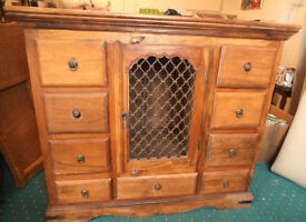 Wood Cabinet for Lounge or Dining Room Indian Rosewood?