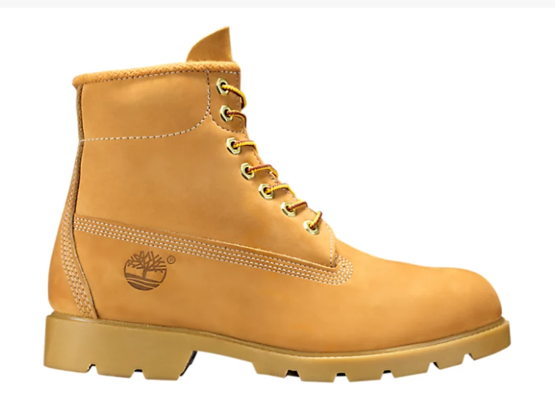 New Timberland Men's Boot 6 Inch Basic Waterproof Boots (10066)  Wheat Nubuck