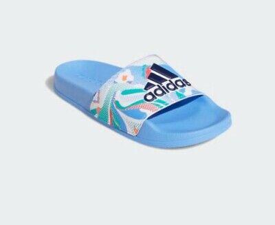 New ADIDAS Kids Adilette Sliders Slides Flip Flops Sandals Boys/Girls Size 3