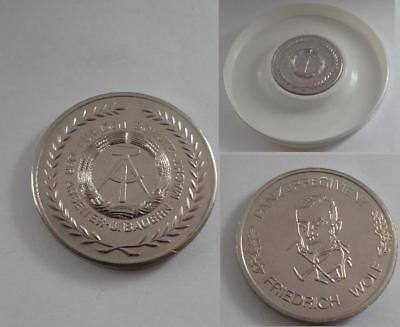 DDR NVA Medaille Panzer - Panzerregiment F.Wolf East german Tank regiment medal