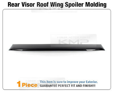 Smoke Window Roof Lip Spoiler Rear Visor Deflector For HYUNDAI 2011-2014 Sonata