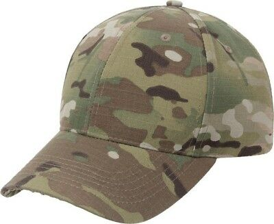 MultiCam Ripstop Tactical Hat Military Baseball Cap Adjustable Camo OCP Scorpion Clothing, Shoes & Accessories