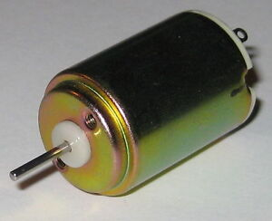 Nissei-Denki-Mini-Motor-DC-Miniature-Generator-6-VDC-1-V-per-2150-RPM