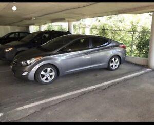 Hyundai Elantra 2012 GLS {{ New /4 winter /4Spark plug/  4brake