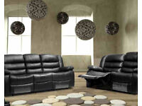 CHRISTMAS OFFER/SPECIAL OFFER 3 PLUS 2 PLUS 1 BONDED LEATHER RECLINER SOFA SUIT/CHRISTMAS OFFER l