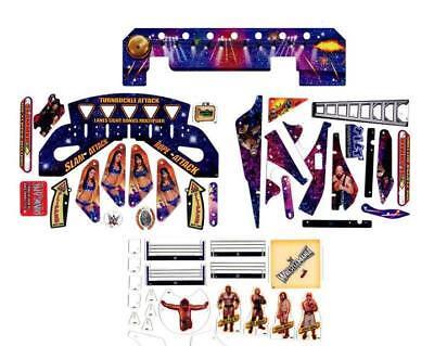 Stern Pinball WWE Wrestlemania Pro Spielfeld Plastik Satz 803-5000-G1