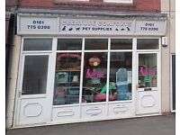 PET SHOP FOR SALE IN IRLAM, MANCHESTER