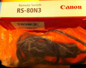 Canon original remote switch RS-80N3