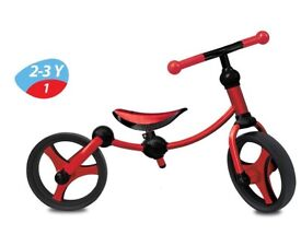 Children's SmarTrike Balance Bike, Red