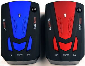 Brand New Red or Blue 360 Degree 16 Band V7 Radar Detector