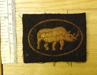 An Original Military Wwii 1st Armoured Division Formation Cloth Badge (4271) -  - ebay.co.uk