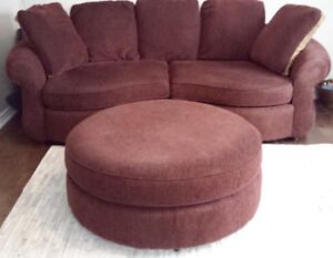 Gone today! Oversized 4 seaters & ottoman