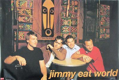 Jimmy Eat World  2002 Rare  Poster