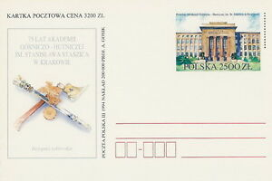 Poland prepaid postcard (Cp 1067) Mining-Metallurgy Academy - <span itemprop='availableAtOrFrom'>Bystra Slaska, Polska</span> - Poland prepaid postcard (Cp 1067) Mining-Metallurgy Academy - Bystra Slaska, Polska