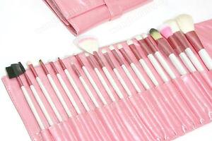 20-Pcs-Professional-Makeup-Brush-Set-Kit-Case-Rose