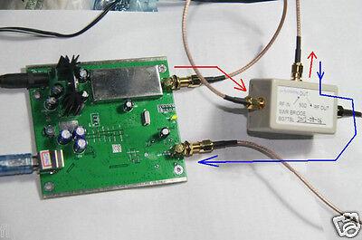 0.1MHz-550MHz USB sweeper analyzer+ attenuator+ SWR bridge+ SMA Cable/Antenna