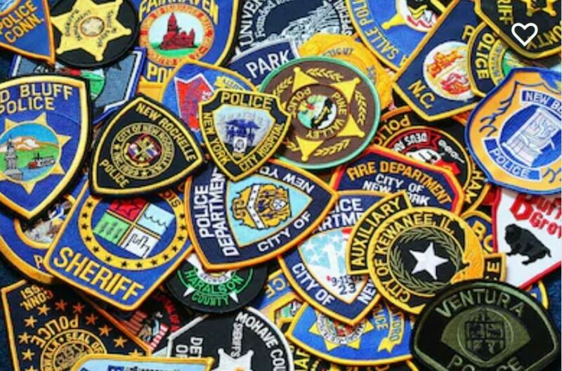 Custom Embroidered Police, Fire, EMS, Military Patches with Your Design!