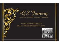G.S Joinery, Skilled Joiner & carpenter.